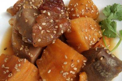 潮汕甜品甜芋红薯