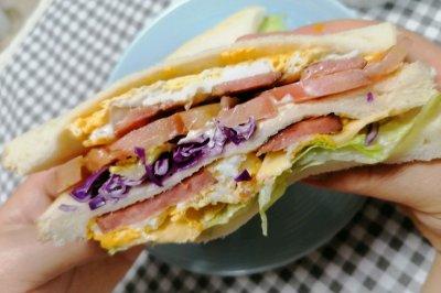 巨无霸版三明治