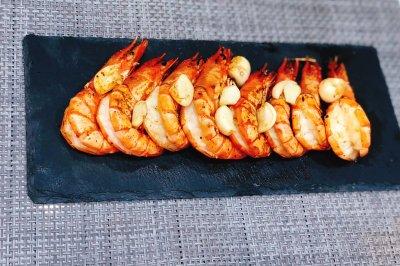 黄油黑虎虾
