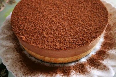 巧克力可可慕斯蛋糕