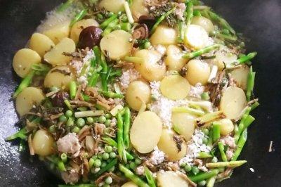 求打包系列土豆咸饭