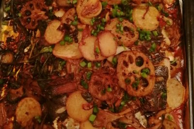 家庭版烤箱烤鱼