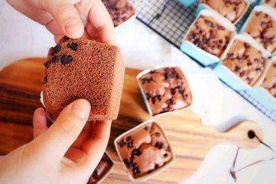 一秒爱上巧克力纸杯蛋糕