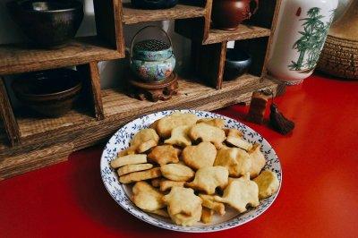 牛油果饼干