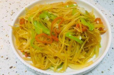 家常菜:素炒土豆丝