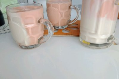 高仿草莓奶昔/脏脏奶昔