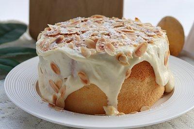 网红椰汁芝士奶盖蛋糕