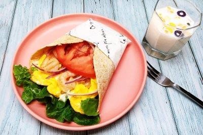 母亲节花束卷饼