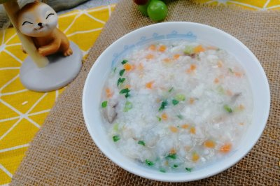鳕鱼香菇粥