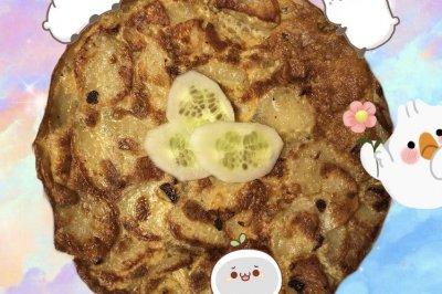 健康版西班牙土豆蛋饼