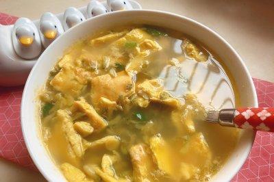 槐香五月鸡蛋汤