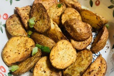 满屋飘香的烧烤土豆