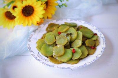 爆炒莴苣片