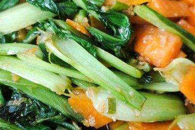 家常小炒蒜蓉油菜