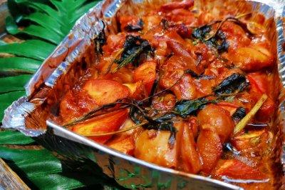 锡纸懒人菜:烤香椿腐乳鸡