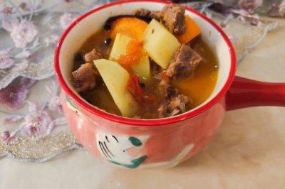 补中益气土豆炖牛肉