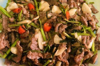 炒小炒牛肉