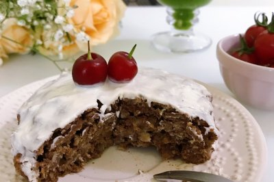 燕麦巧克力蛋糕