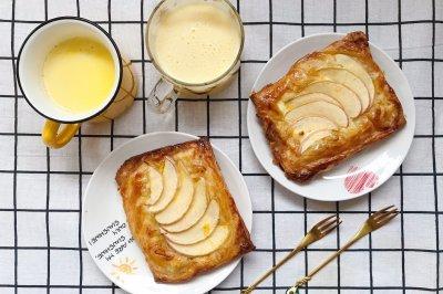 手抓饼版苹果酥饼
