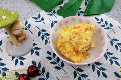 虾仁早餐饼