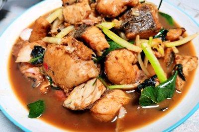 萝卜丝炒鱼