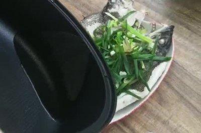 粤式蒸鲈鱼