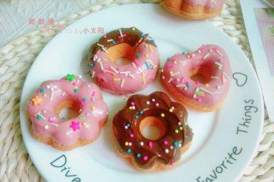不油炸不加泡打粉的甜甜圈
