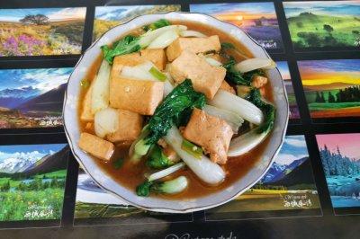 小奶白菜溜豆腐