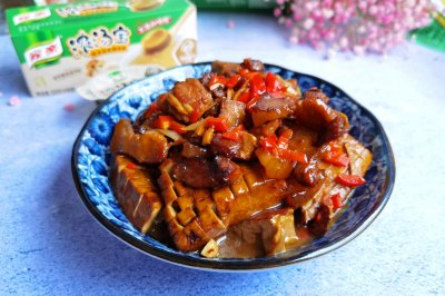 家乐浓汤宝煮五花肉豆腐干