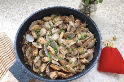 干锅粉丝蛤蜊