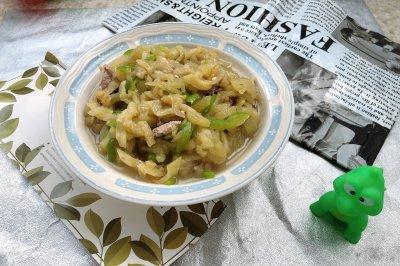 肉糜茄丝炒青椒