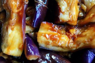 微波炉菜式:不用油煸的茄子