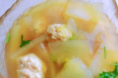 减脂食谱冬瓜汤