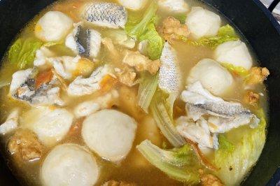 西红柿鱼丸野生鱼汤