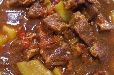 超级超级下饭的番茄土豆炖牛肉