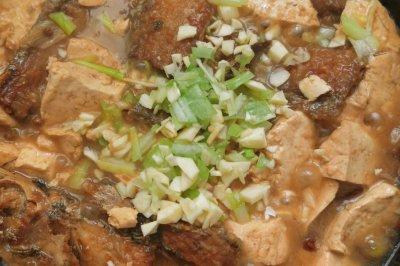 带鱼炖豆腐
