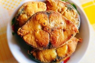 家常菜香煎鲅鱼