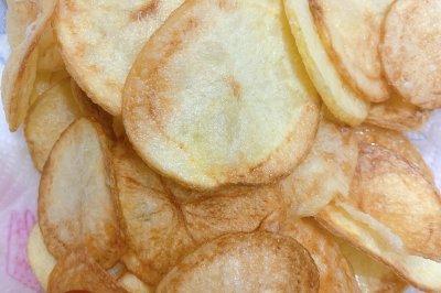 六一小零食:自制薯片