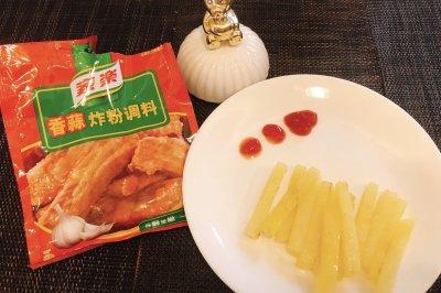 儿童餐香蒜薯条