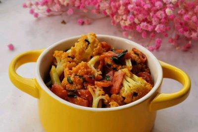 十分钟快手菜:培根花菜