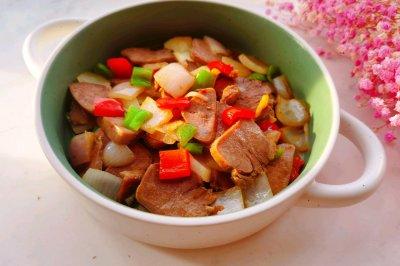 十分钟快手菜:小炒猪舌