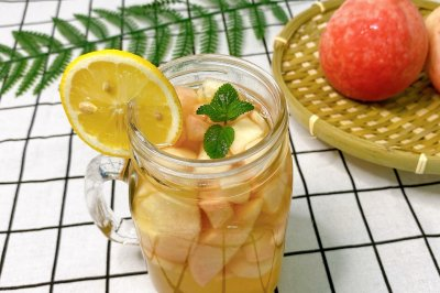 桃子蜂蜜茶
