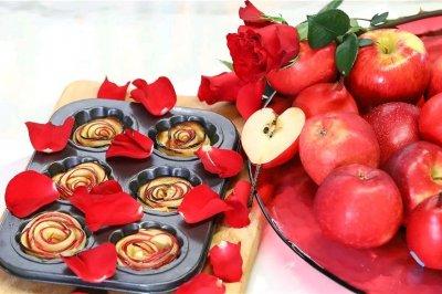 超简单玫瑰苹果派