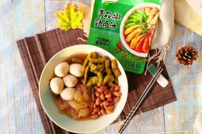 适合夏日的凉菜:青花椒辣卤菜