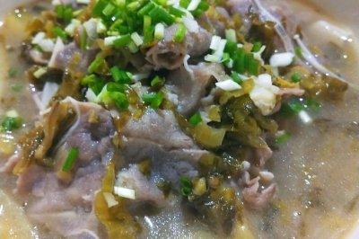 喝汤吃肉的酸汤肥牛