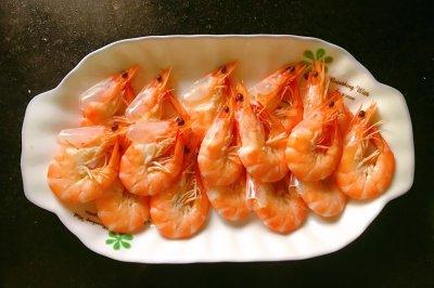 白灼虾(附蘸料