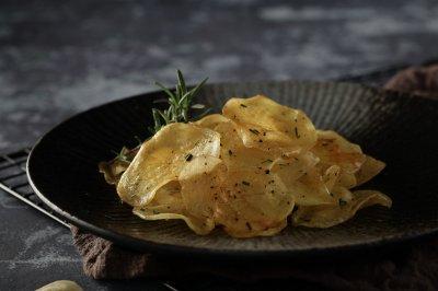 搪瓷蒸烤箱版烤土豆片