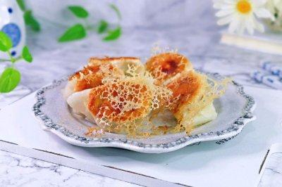 青菜猪肉煎饺