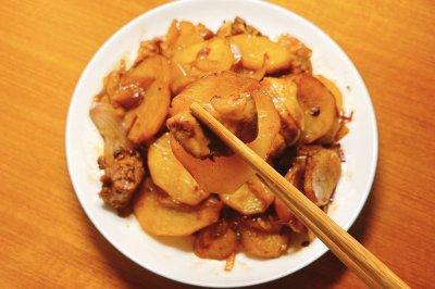 麻辣土豆烧鸡块