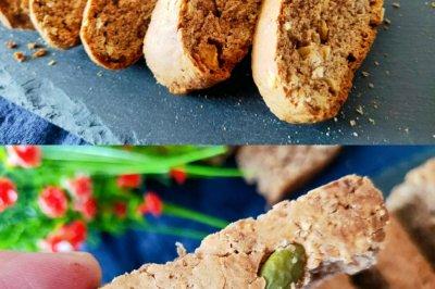 减脂可可燕麦意式脆饼